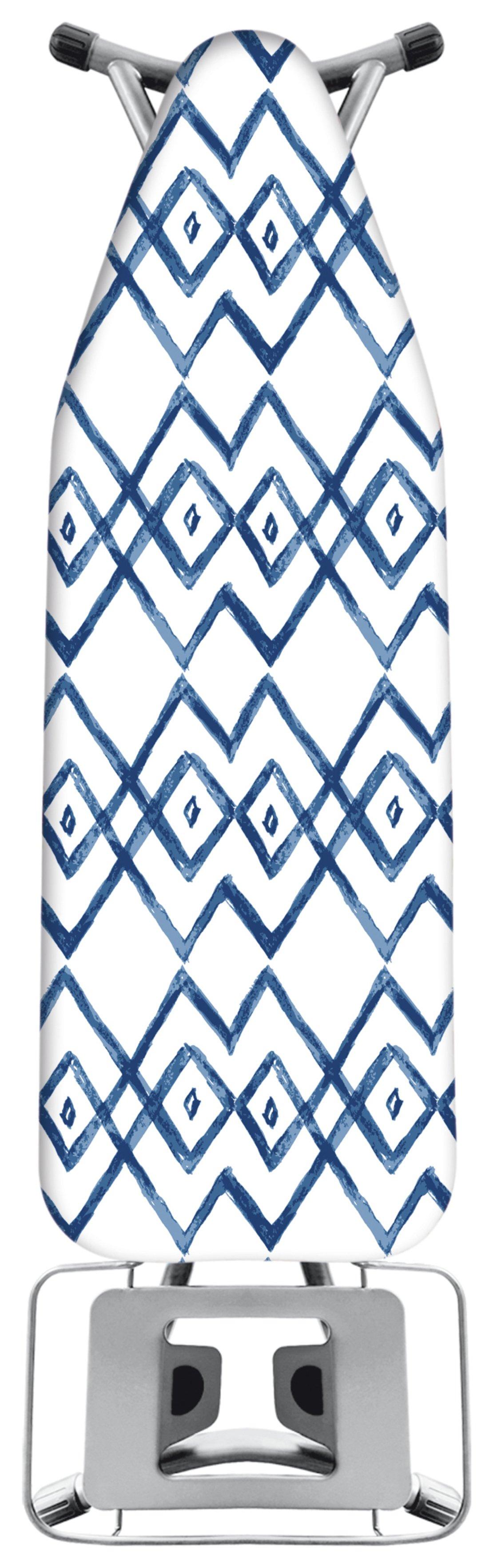 jml premium ironing board cover blue white. Black Bedroom Furniture Sets. Home Design Ideas