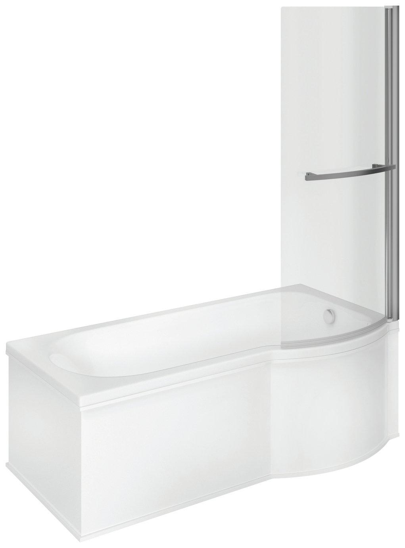 Lavari Frameless Right Curved Single Bath & Shower Screen review