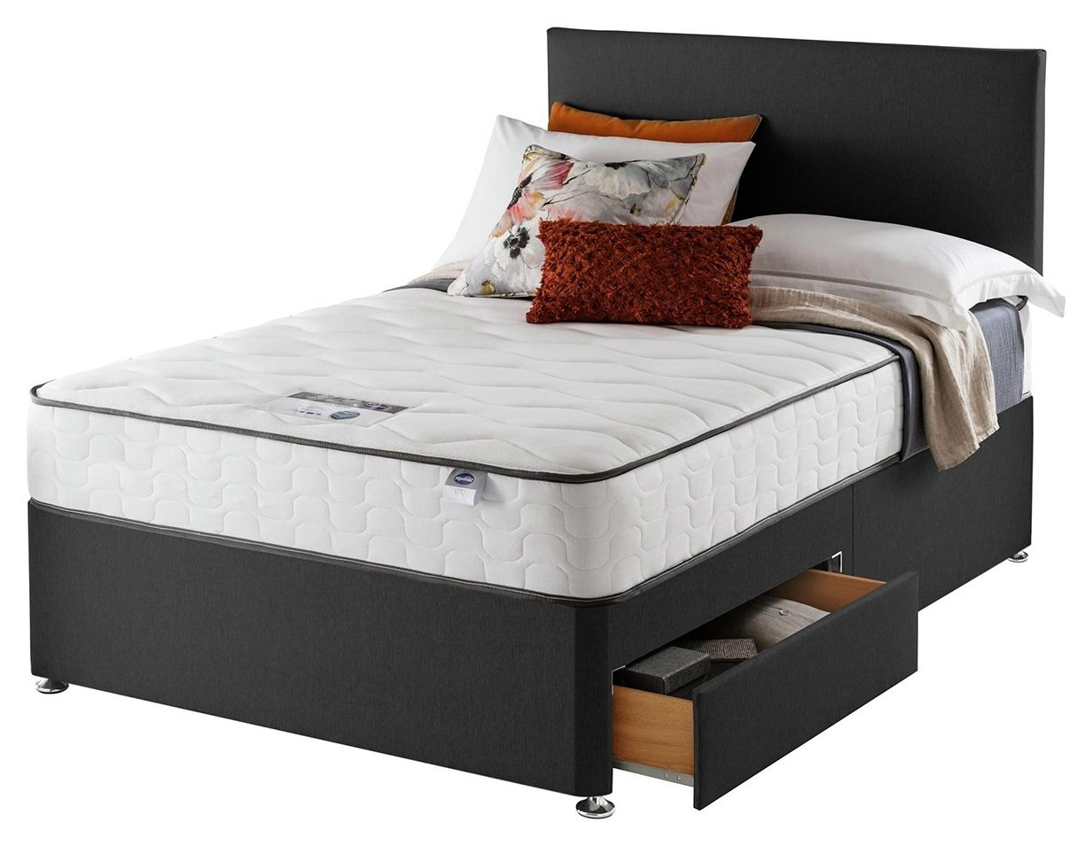 Silentnight Middleton 800 PKT Comfort 2DRW Ccoal Double at Argos review