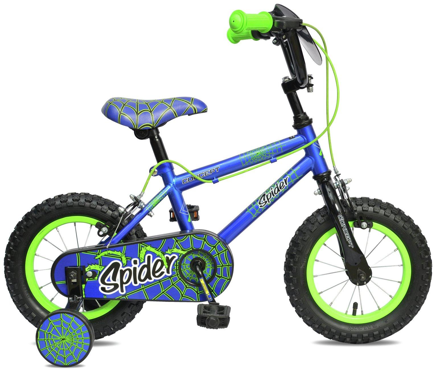 Concept 8.5 Inch Kids Bike - Spider
