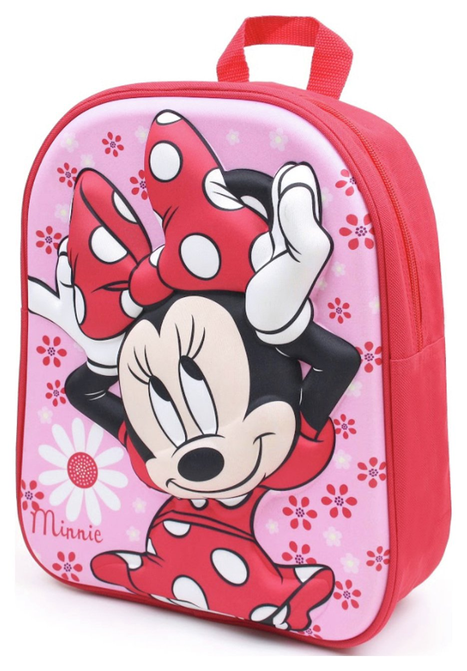 Disney Minnie Mouse Flowers 3D Moulded Backpack review