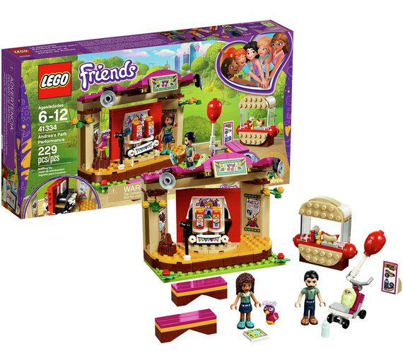 Buy Lego Friends Andrea Park Performance 41334 Lego And