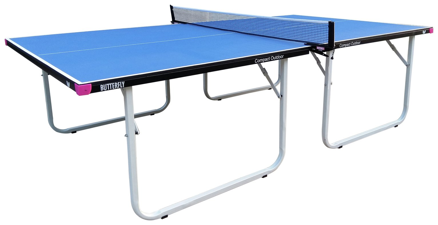 Image of Butterfly Compact 16 Indoor Blue Table Tennis Table