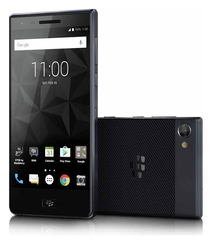Image of Sim Free Blackberry Motion Mobile Phone - Black