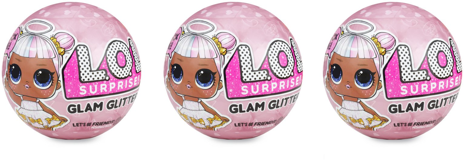 LOL Glam Glitter Surprise 3 Pack review
