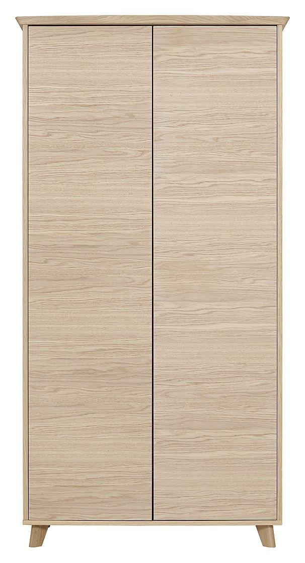 Image of Calcott 2 Door Wardrobe - Oak Effect
