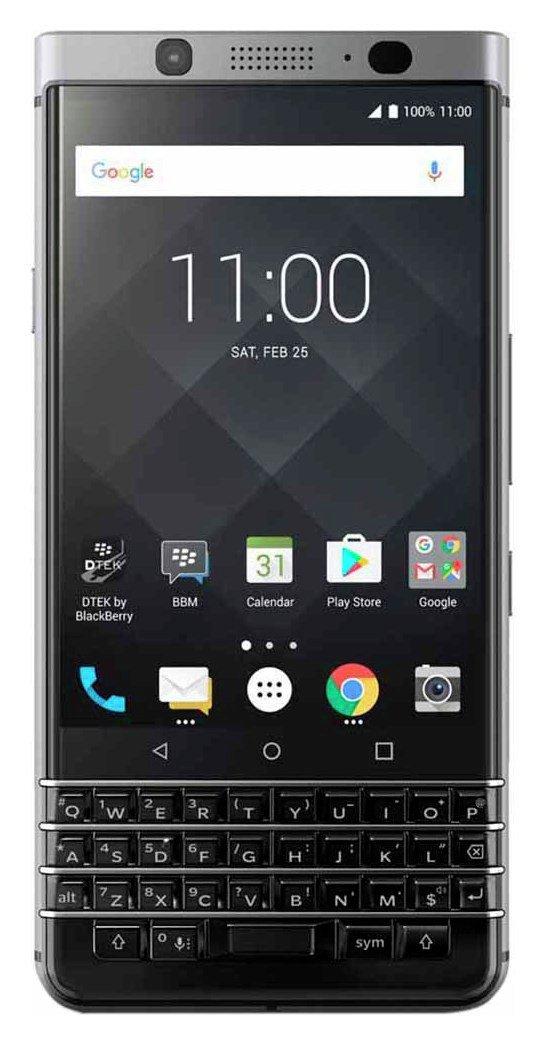 Image of Sim Free BlackBerry KEYone 32GB Mobile Phone ??? Silver