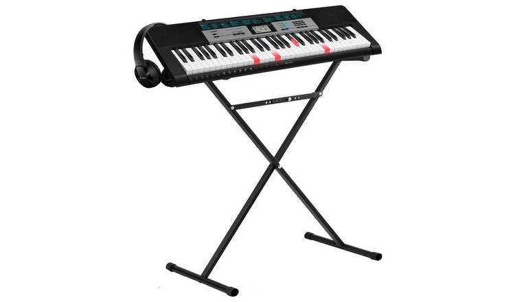 save off 275f8 0b790 Buy Casio LK-136AD Keyboard with Stand and Headphones | Keyboards | Argos