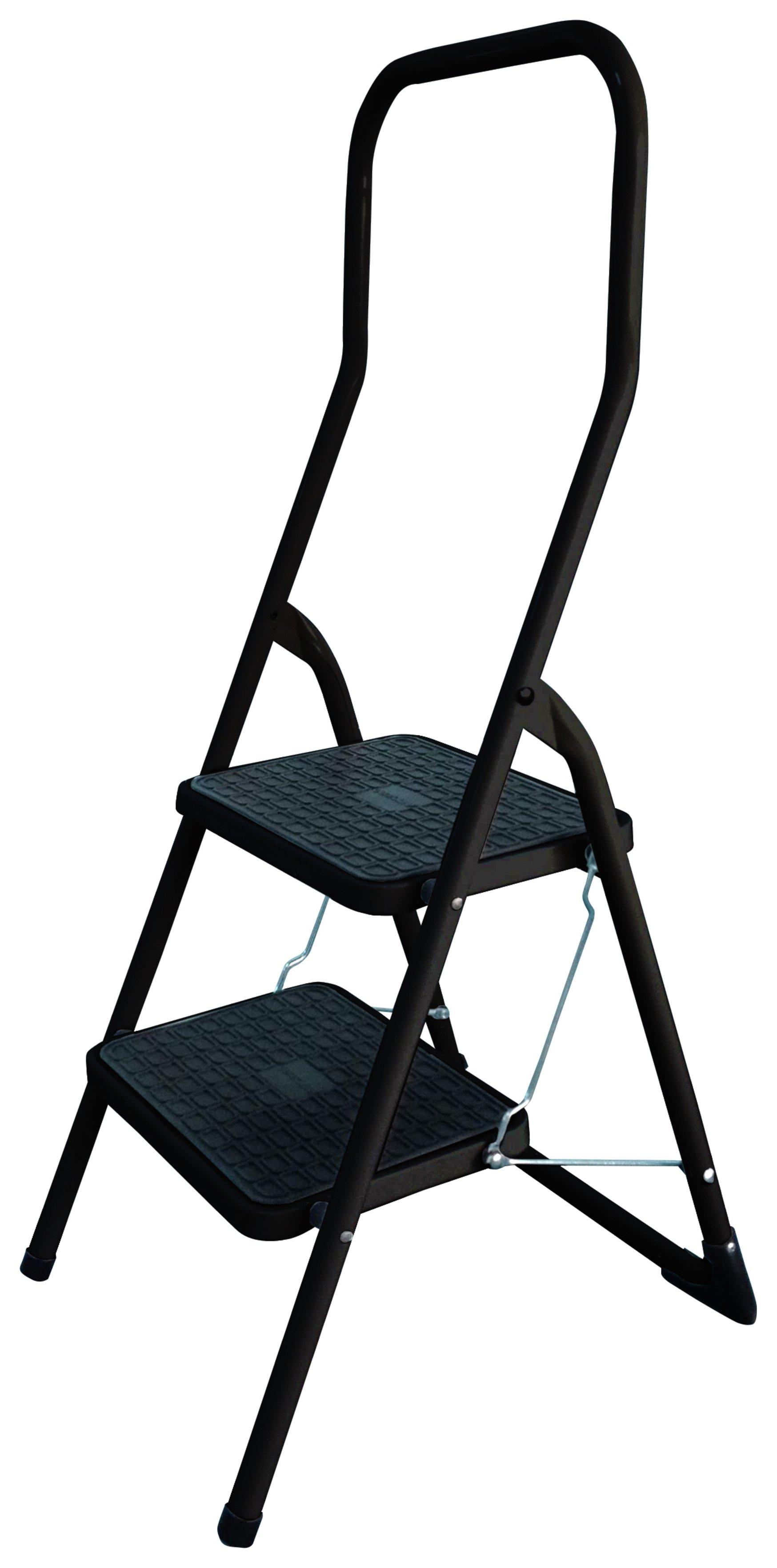 Abru 2 Step Stepstool with High Handrail