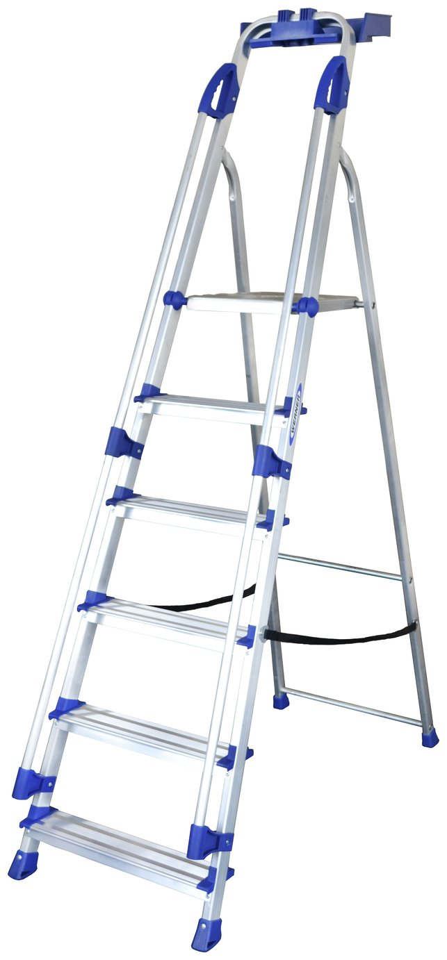 Abru 6 Tread Workstation Stepladder 3M Max *SWH