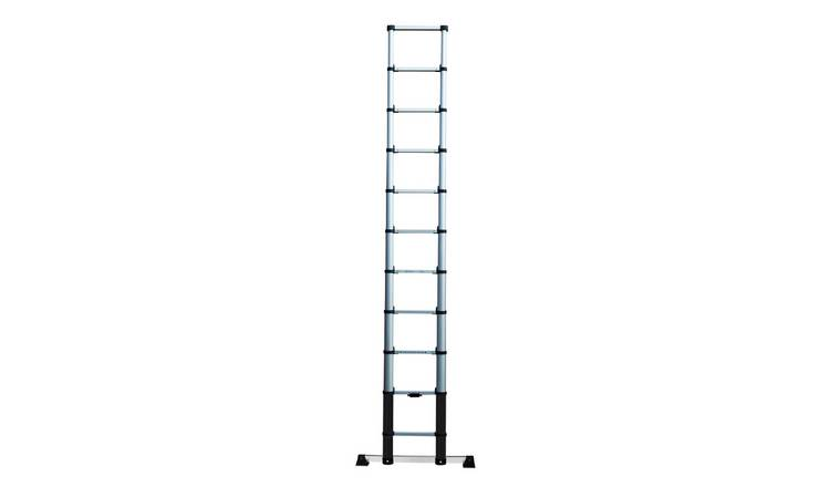 Buy Abru 3 2M Telescopic Ladder 3 67M Max *SWH | Ladders and step stools |  Argos