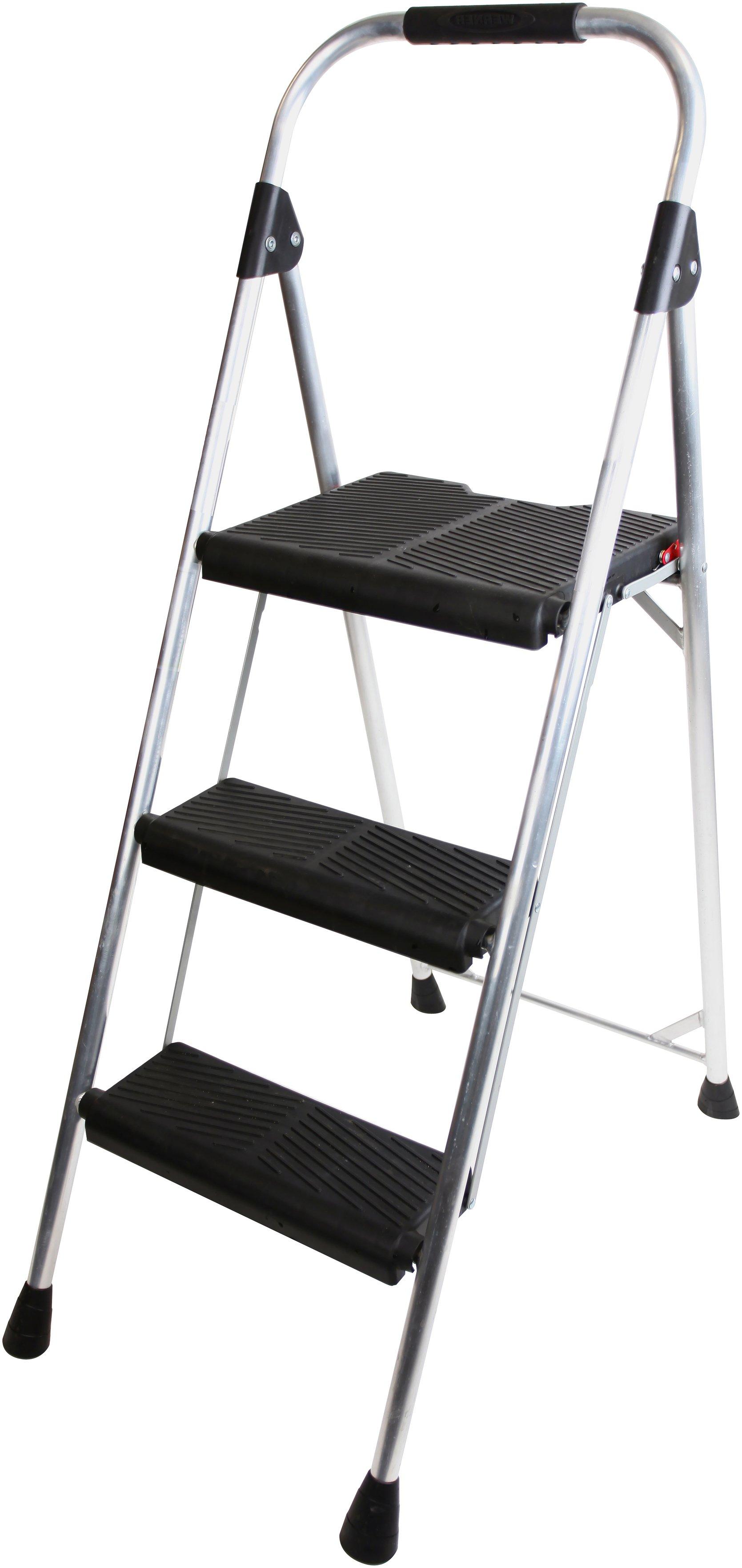 Abru 3 Step Aluminium Stepstool 2.53m *SWH