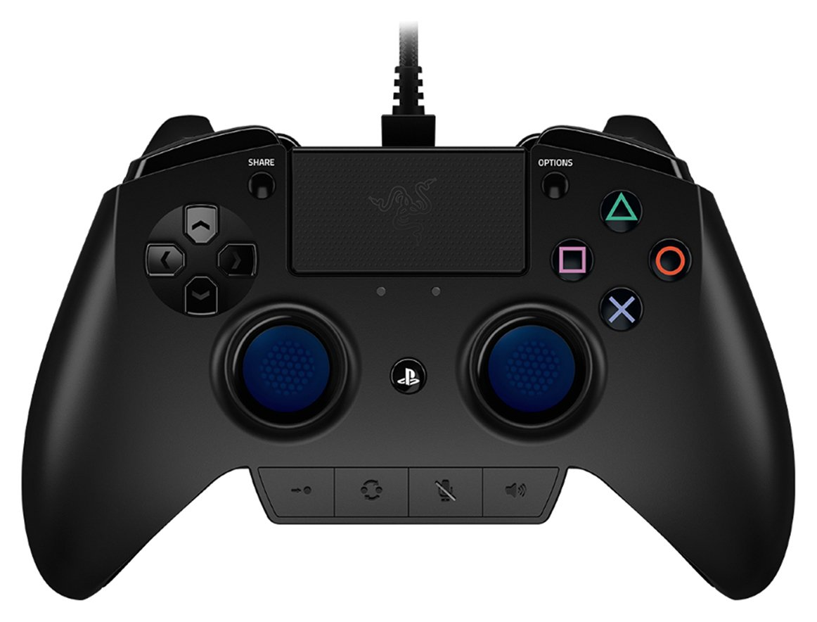 Official Sony PS4 Razer Raiju Gamepad Pro Controller
