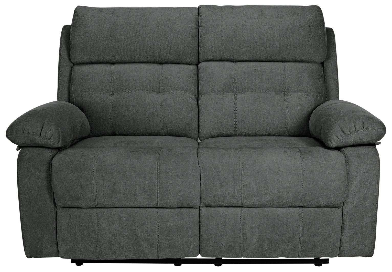 Incroyable Buy Argos Home June 2 Seater Fabric Recliner Sofa   Charcoal   Sofas   Argos