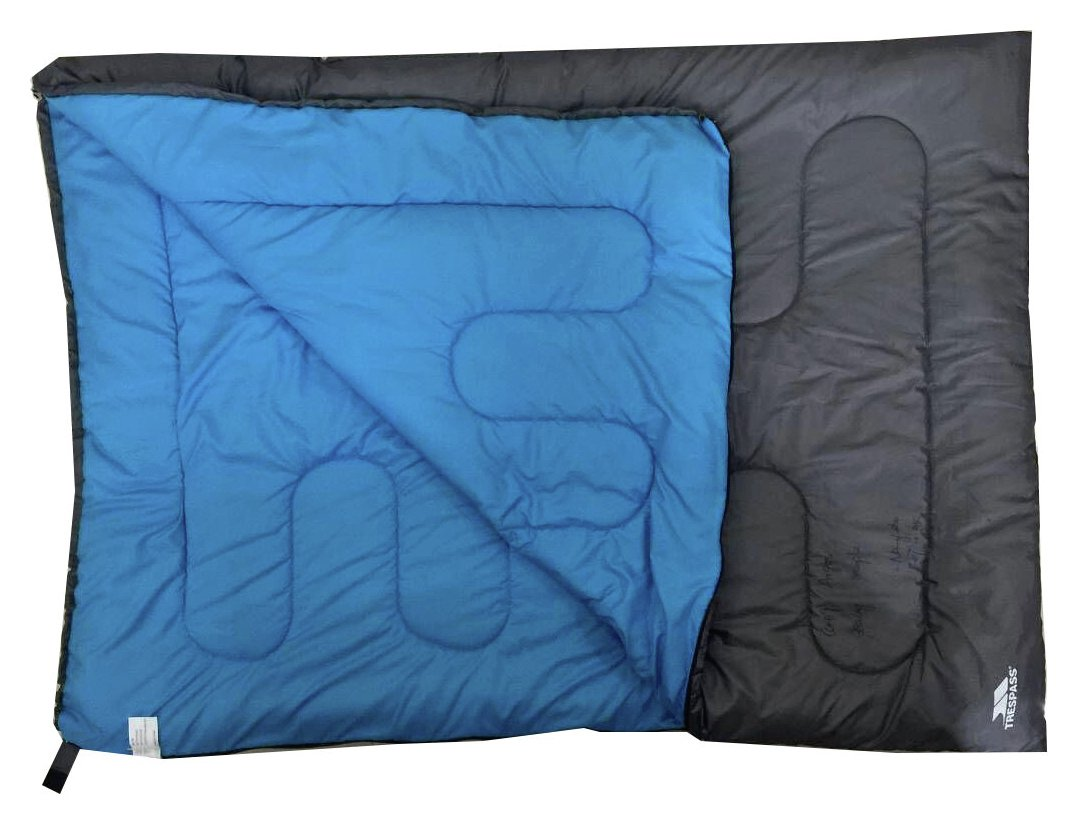 Image of Trespass Double Envelope 400GSM Sleeping Bag