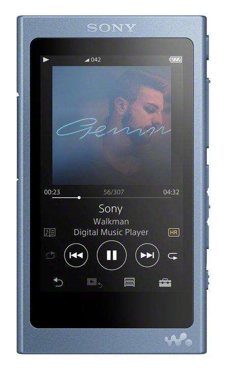 Sony NWA45LCEW Hi-Res Walkman 16GB MP3 Player - Blue