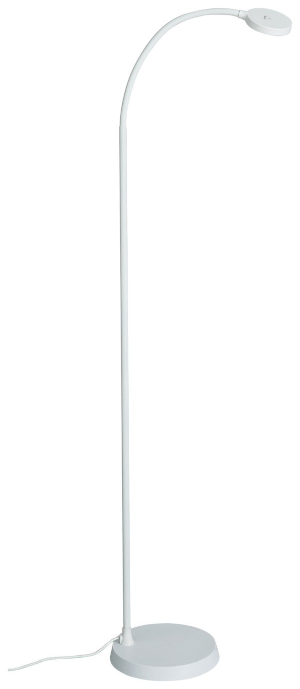 Image of Habitat Dotty LED Floor Lamp - White