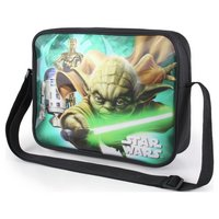 Star Wars Yoda Lightsaber Shoulder Bag Black