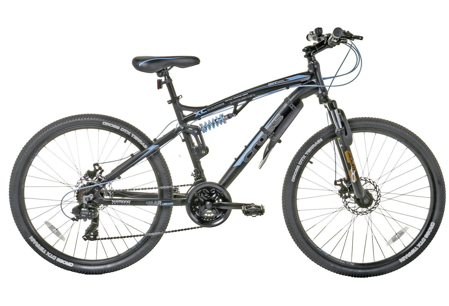 Image of Cross DXT700 Dual Suspension 26 Inch Mountain Bike