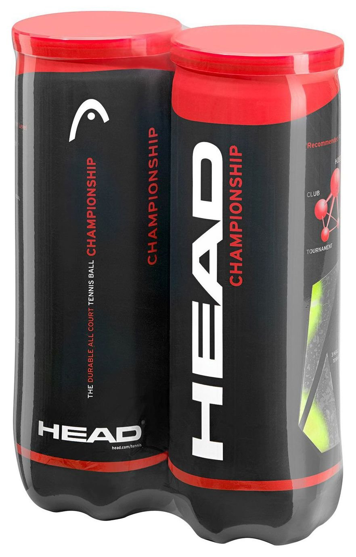 HEAD 6 Pack of Tennis Balls