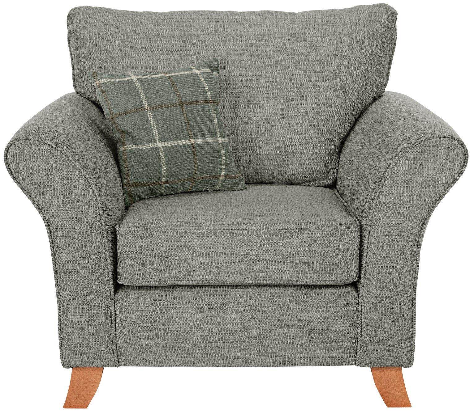Argos Home Kayla Fabric Armchair - Grey