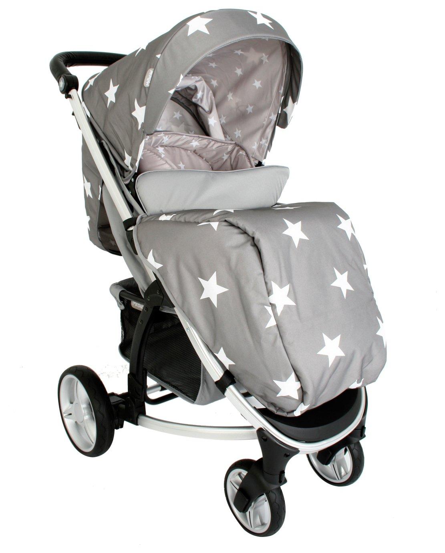 My Babiie Billie Faiers MB200 Stars Pushchair - Grey