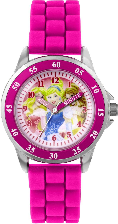 Disney Princess Pink Time Teacher Watch