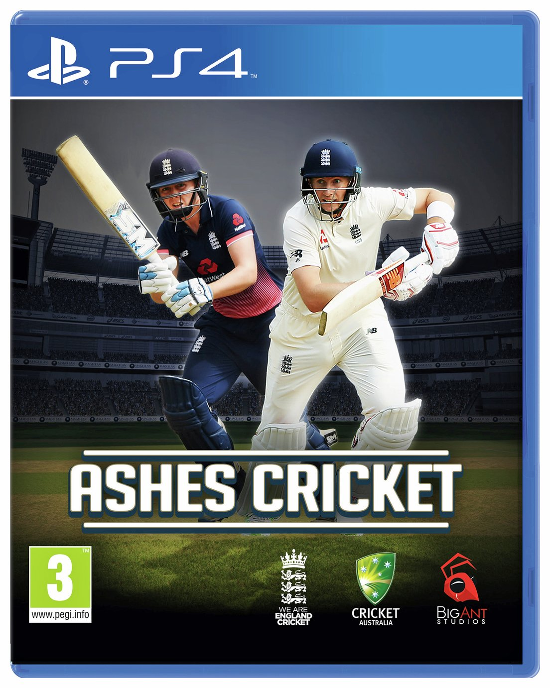 Image of Ashes Cricket PS4 Game