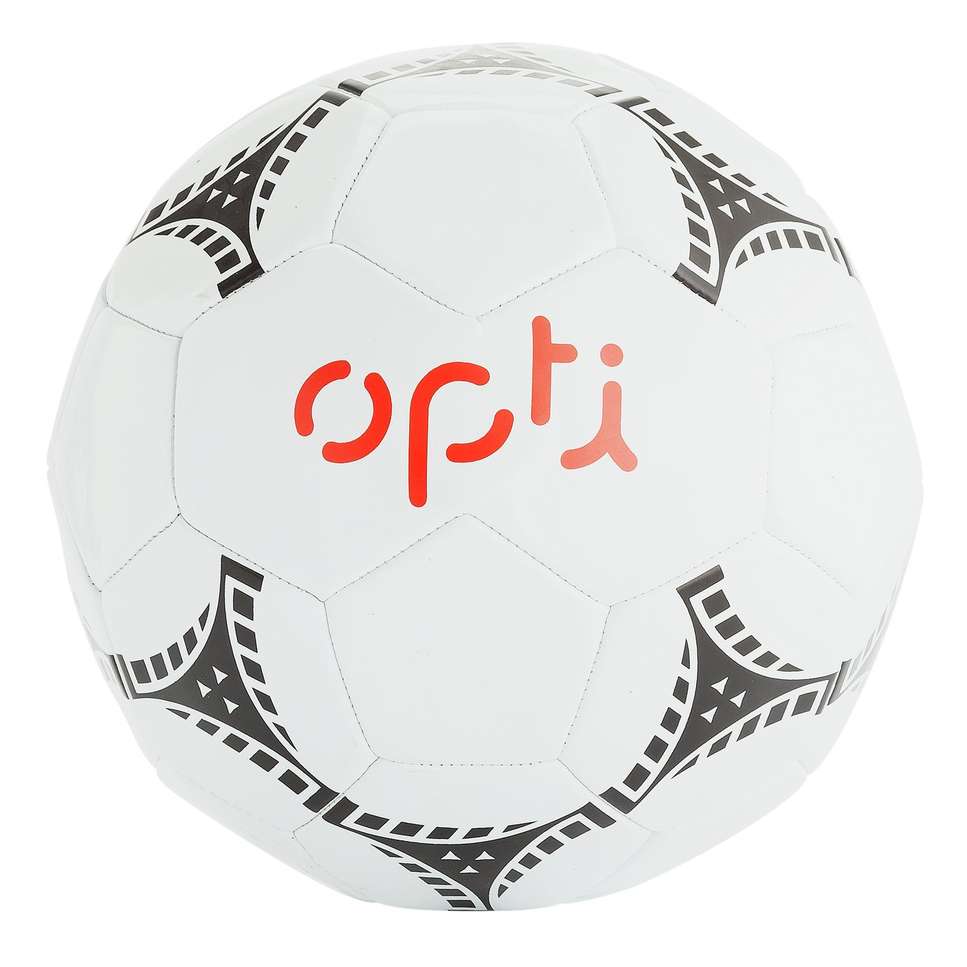 Opti Size 5 Football - White