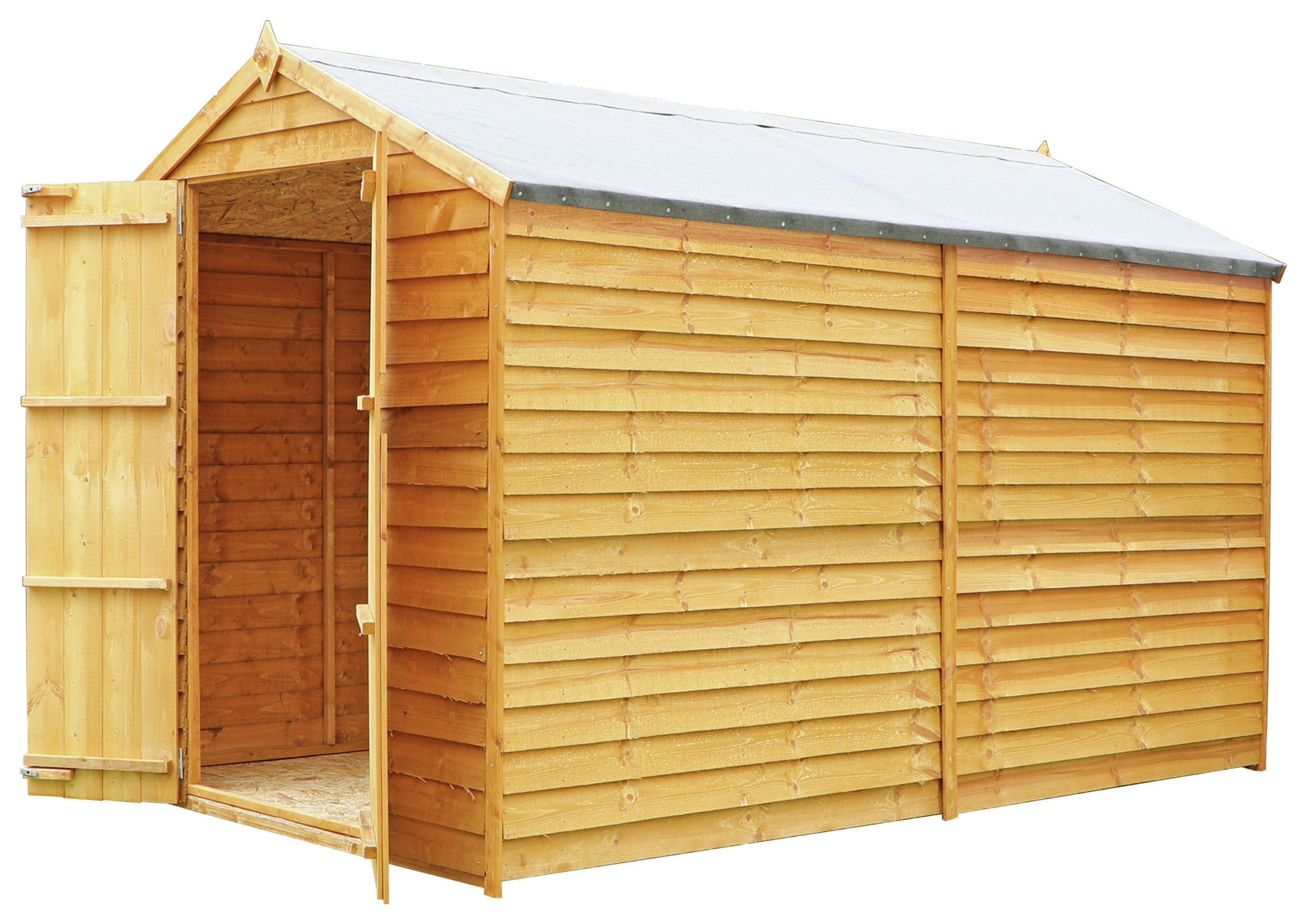 Mercia Overlap Windowless Shed - 10 x 6ft at Argos