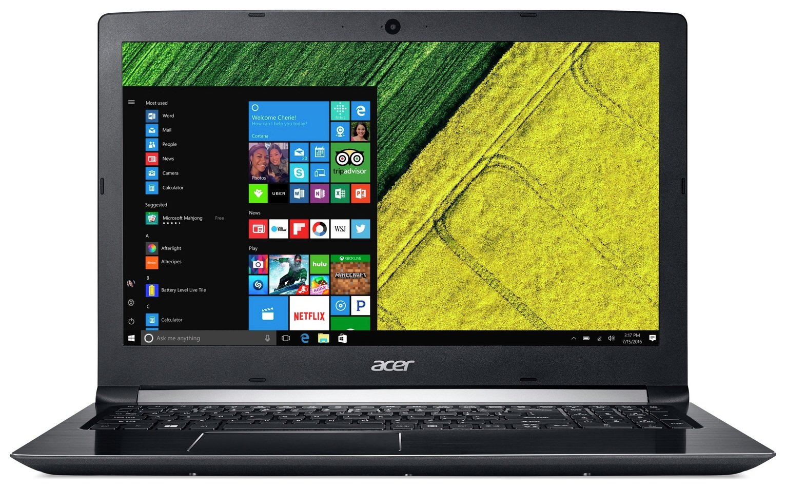 Image of Acer Aspire 5 15.6 Inch i5 8GB 256GB Laptop - Black