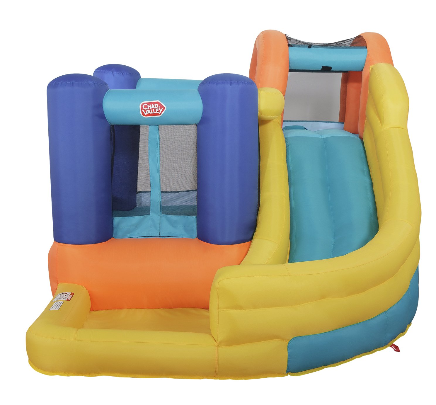 Chad Valley 9.5ft Inflatable Funhouse with Pool and Slide