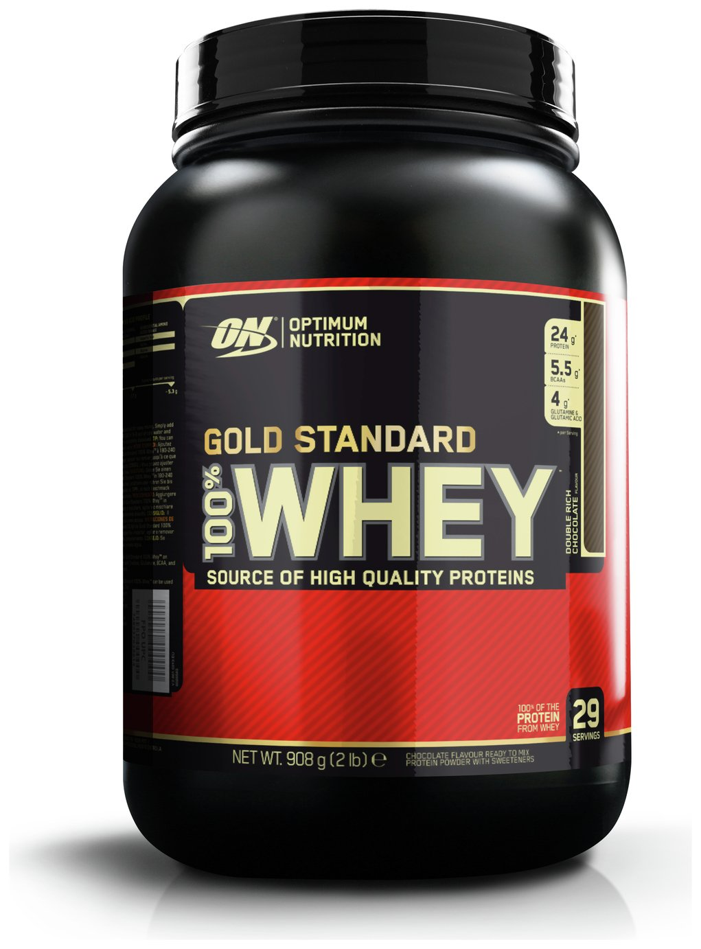 Optimum Nutrition 100% Gold Standard Whey Chocolate 908g