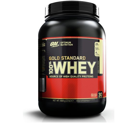Optimum Nutrition 100% Gold Standard Whey Vanilla 908g