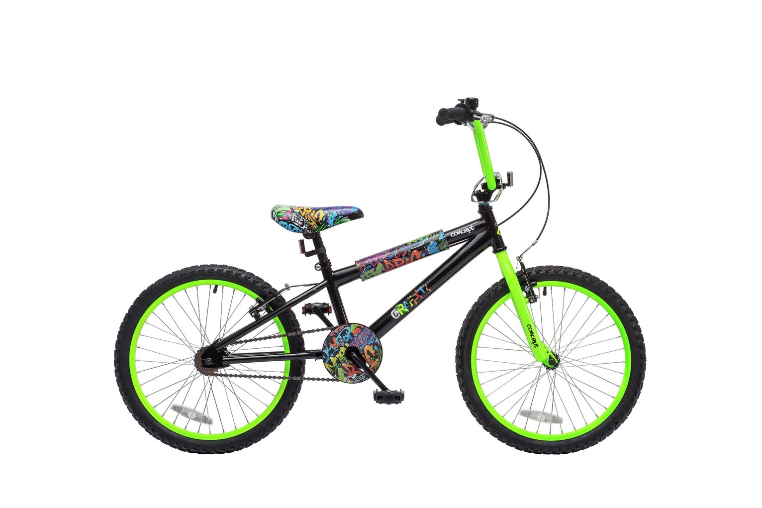 Image of Concept 10 Inch Kids BMX Bike - Grafitti