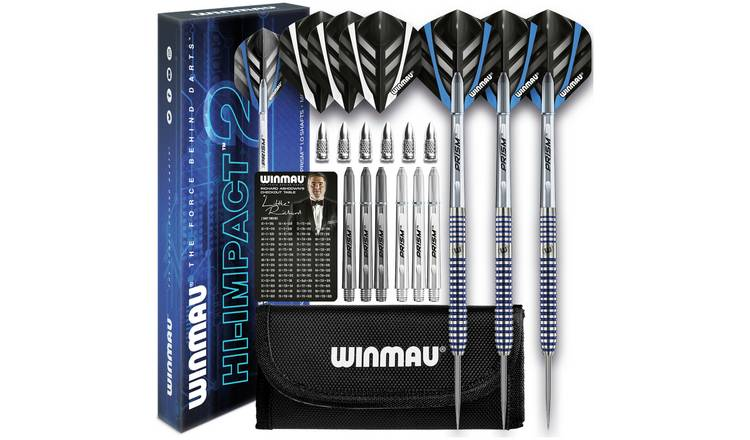 Winmau Hi-Impact 2 24g 95% Tungsten Darts Set and Case