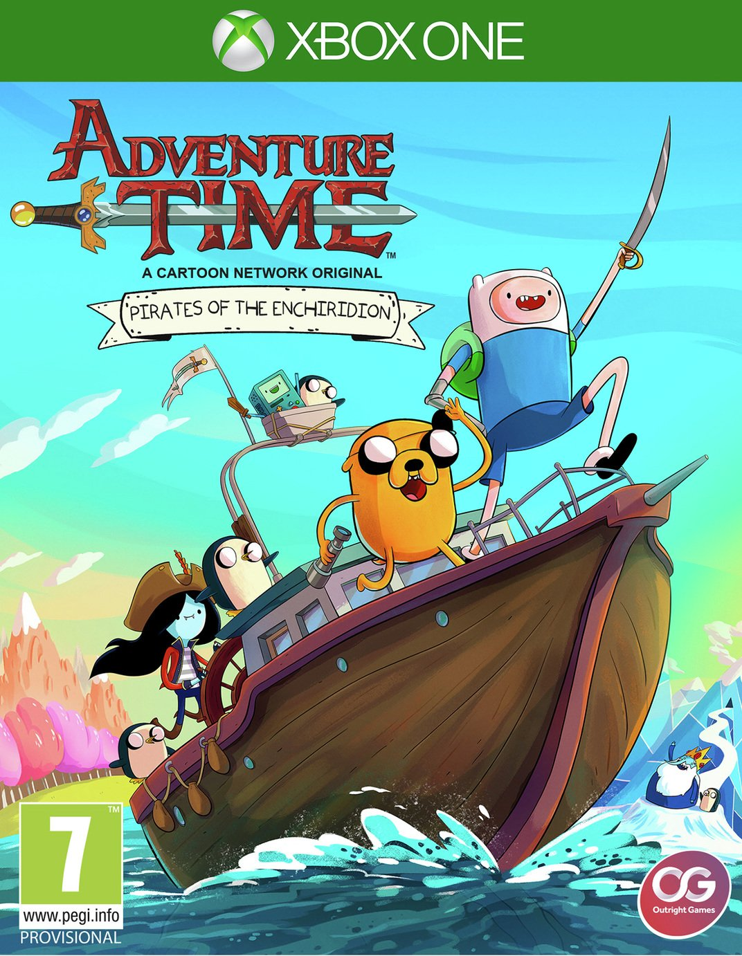 Adventure Time Pirates Enchiridion Xbox One Game