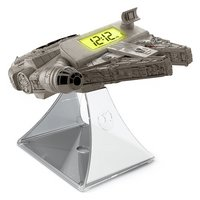 eKids Millennium Falcon Night Glow Alarm Clock Radio