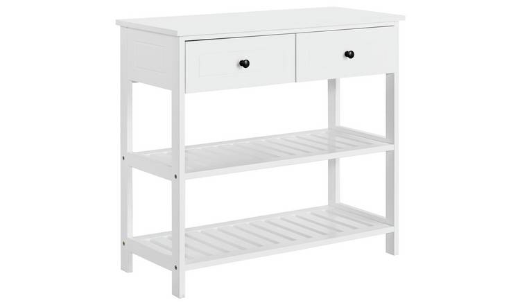 new style e7757 f41c0 Buy Argos Home 2 Drawer Console Table - White | Console tables | Argos