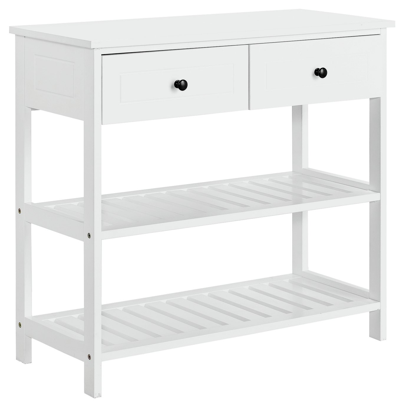 Argos Home 2 Drawer Console Table   White760/9253