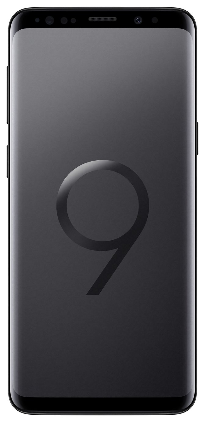 Sim Free Samsung Galaxy S9 64GB Mobile Phone Midnight Black
