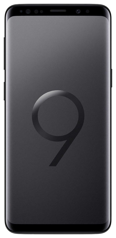 Samsung Sim Free Samsung Galaxy S9 64GB Mobile Phone Midnight Black