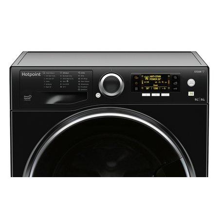 Hotpoint RD966KDUK 9KG/6KG 1600 Spin Washer Dryer - Black