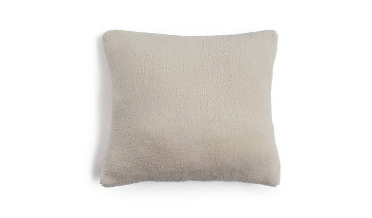 Argos Home Cosy Cushion - Stone