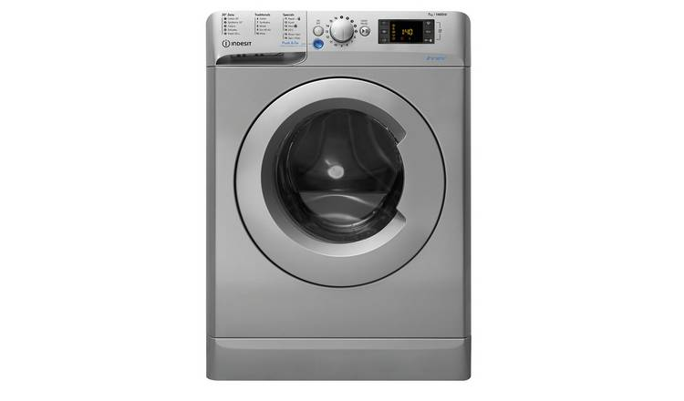 Indesit BWD71453S 7KG 1400 Spin Washing Machine - Silver