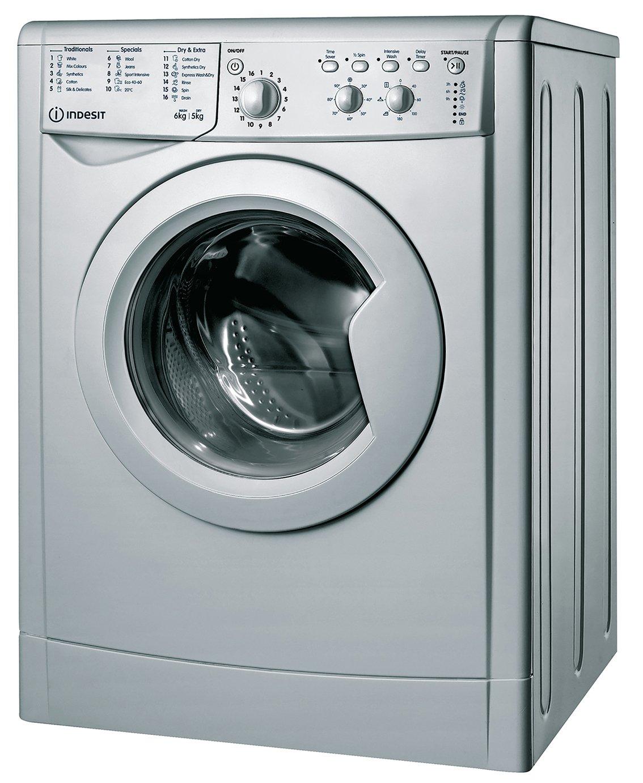 Indesit IWDC65125S 6KG/5KG Washer Dryer - Silver