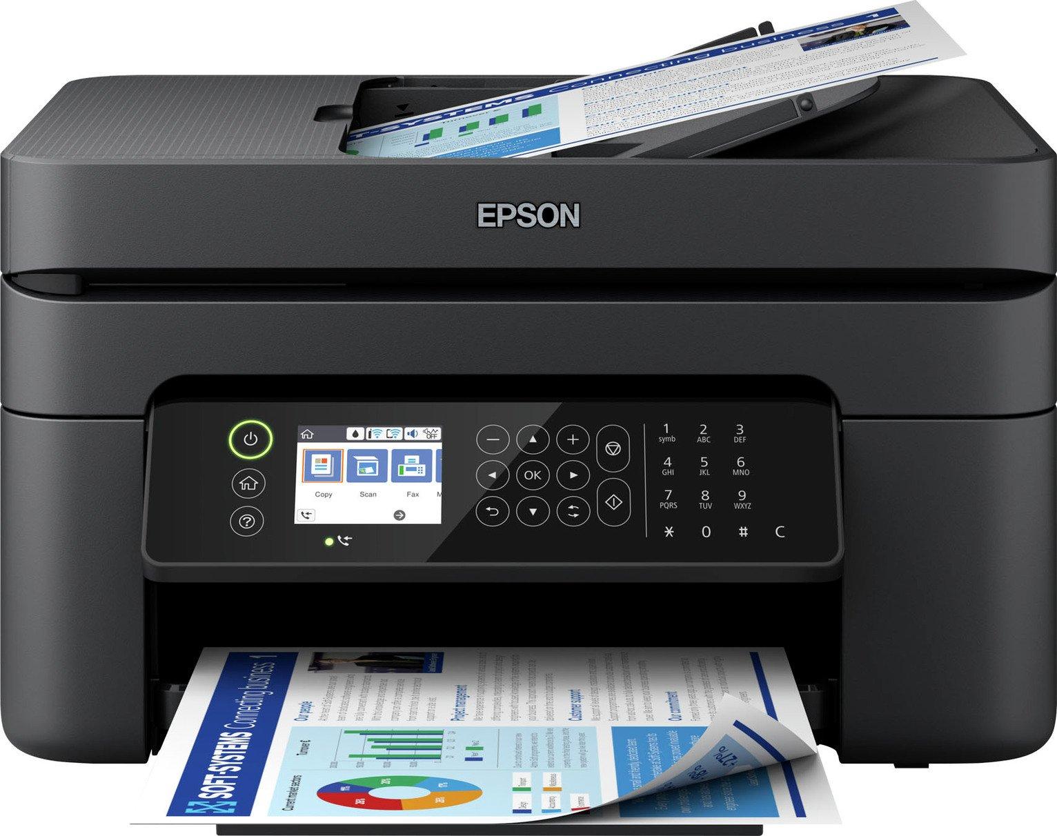 Epson WorkForce 2850DWF Wireless Inkjet Printer