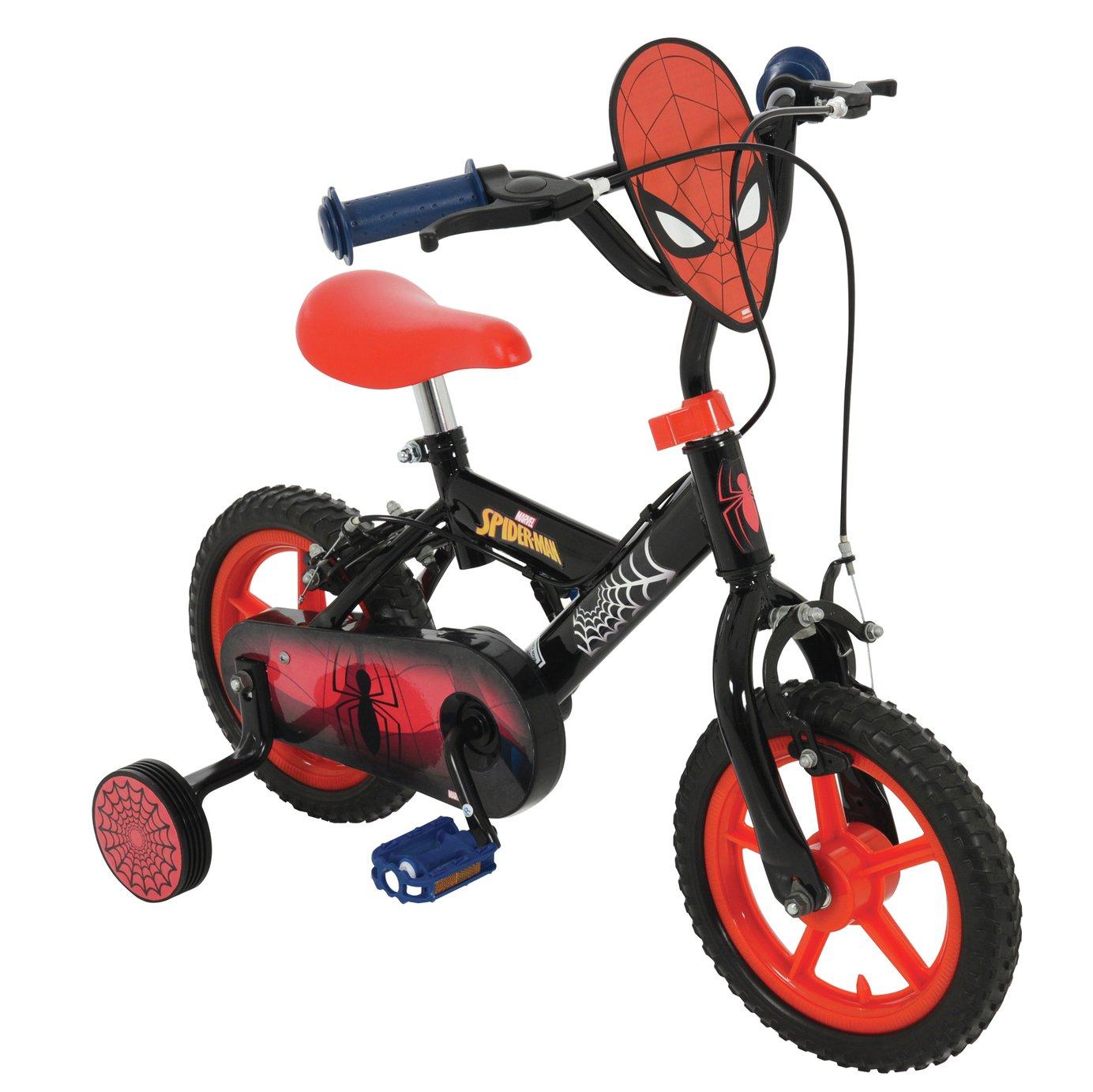 Spider-man 12 Inch Wheel Size Kids Bike