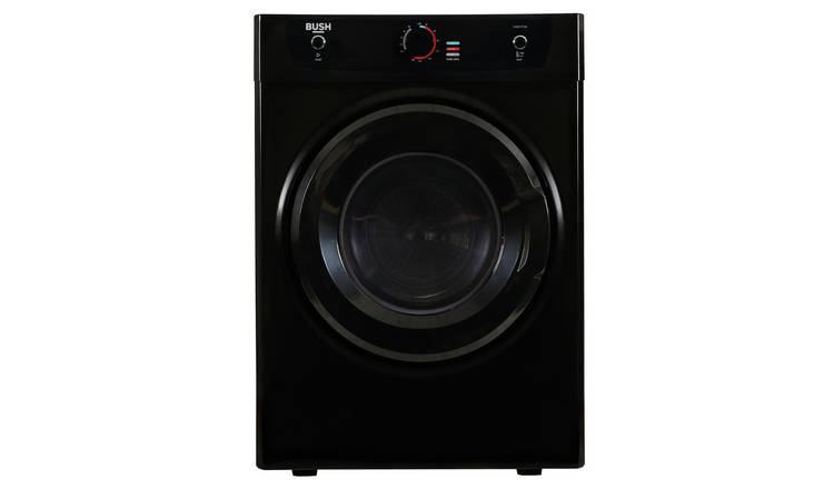Bush DHB7VTDB 7KG Vented Tumble Dryer - Black