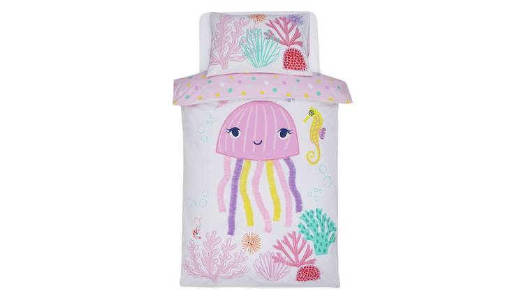 Argos Home Jellyfish Bedding Set - Toddler